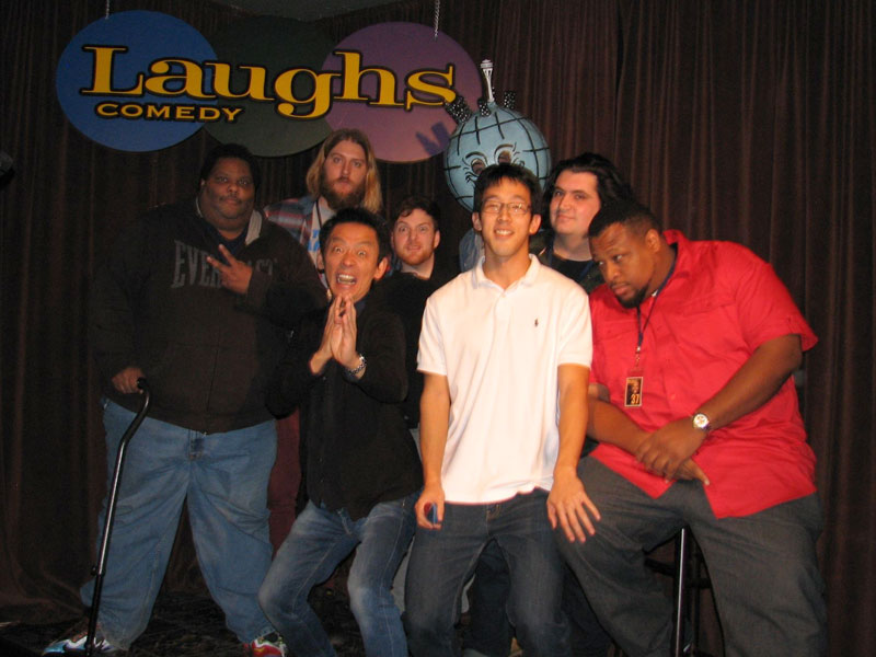 Laughs Comedy Club Top Five