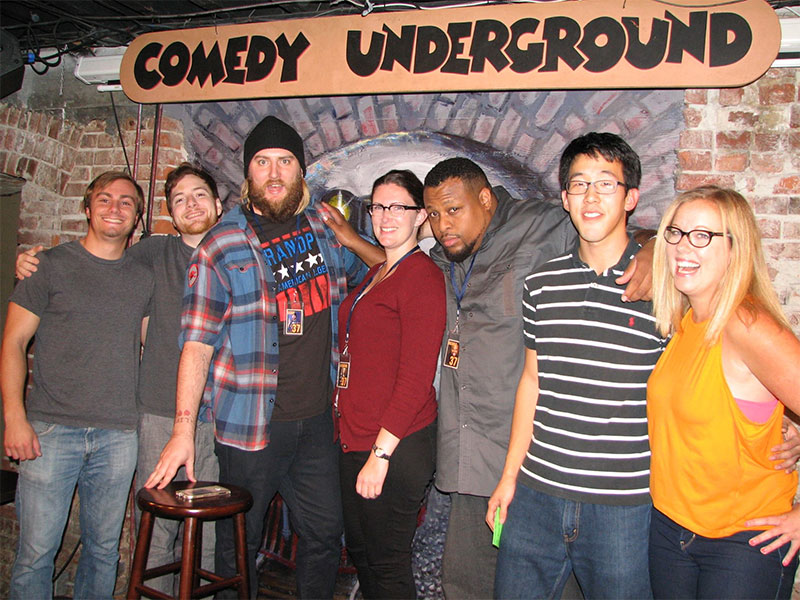 Comedy Underground Winners