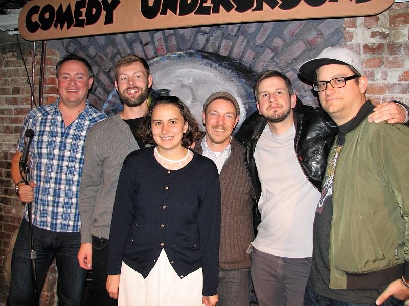 Comedy Underground - Top 5 Week 1 2017