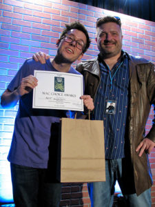 Matt Donaher wins WAC Choice Award